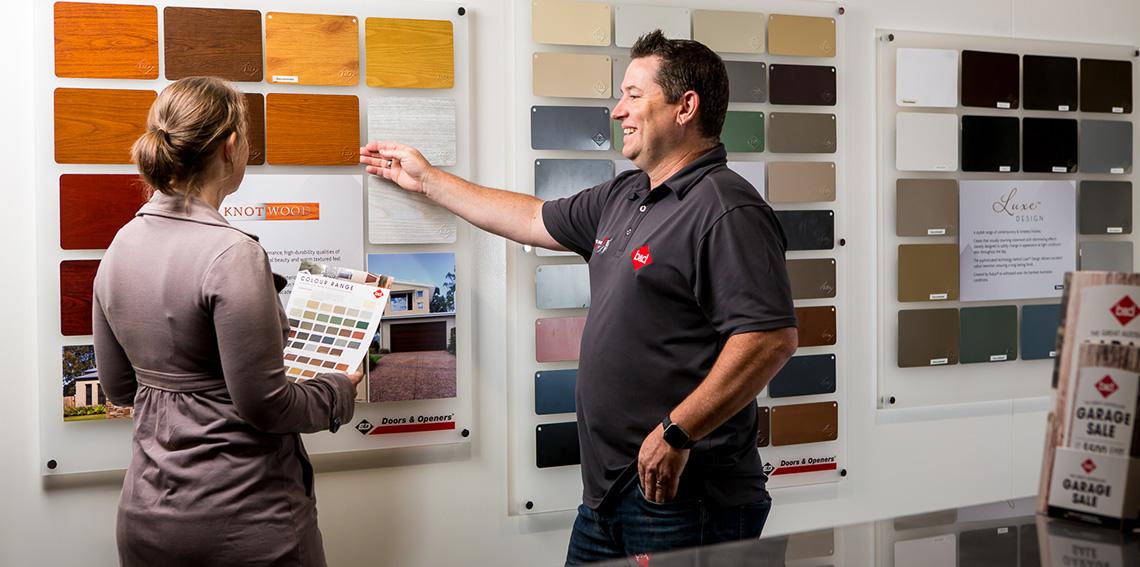Mobile Showroom | Garage Door Solutions in Braeside & Berwick